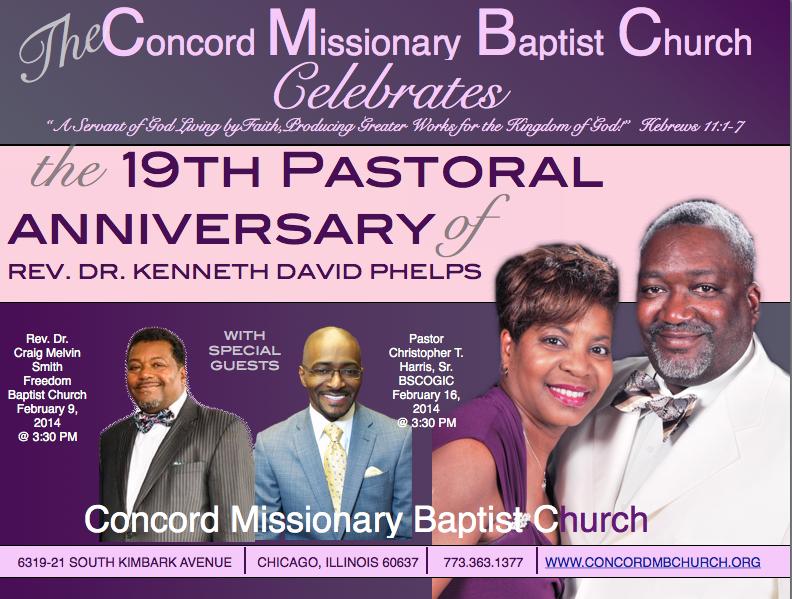 pastoral anniversary flyers